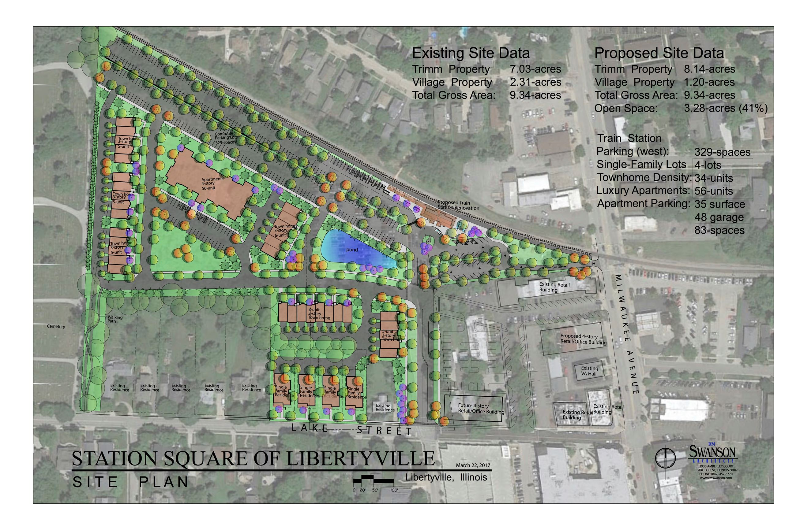 Station Square Site Plan