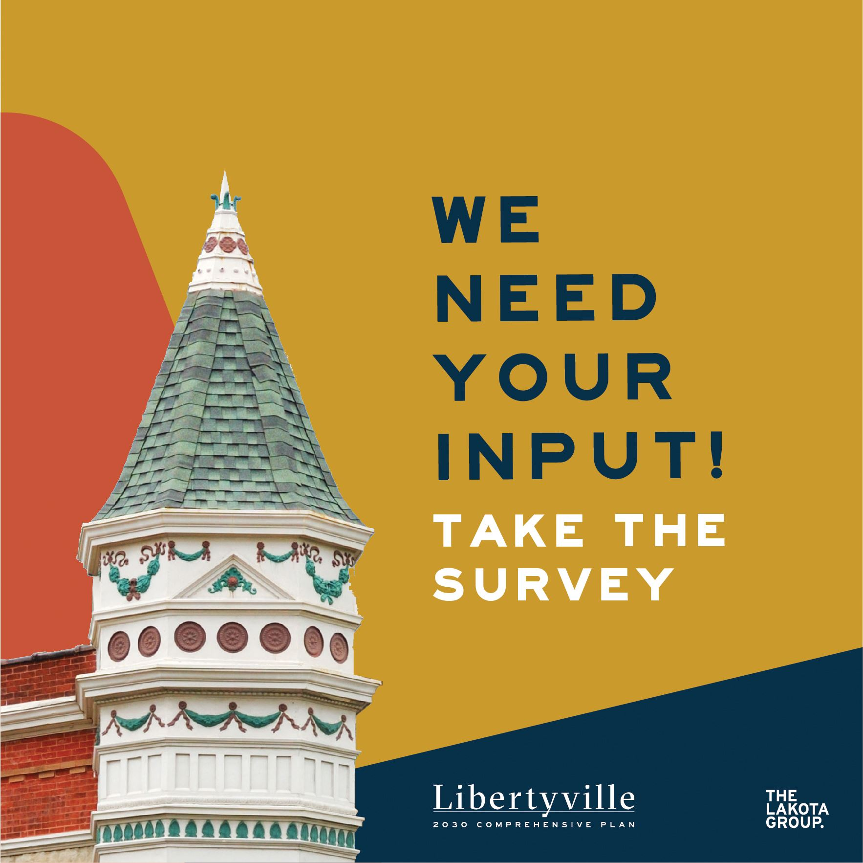 Libertyville Comprehensive Plan Survey Announcement 2018